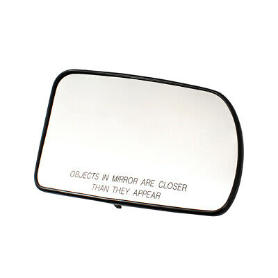 For 13-16 Honda CR-Z Left Driver Side Heated Power Door Mirror Glass Replacement