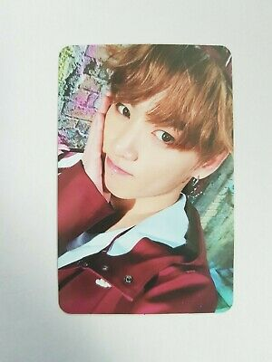 "K-POP BTS Mini Album ""YOU NEVER WALK ALONE"" Official JungKook Photocard"