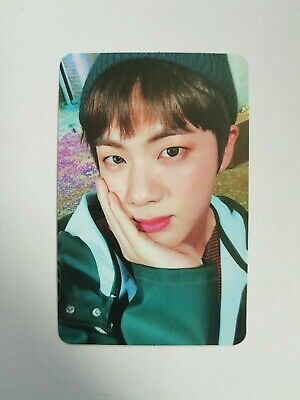 "K-POP BTS Mini Album ""YOU NEVER WALK ALONE"" Official Jin Photocard"