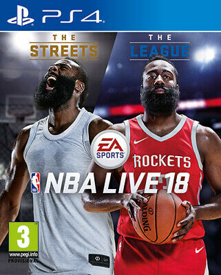 NBA Live 18 The One Edition (Basket 2018) PS4 Playstation 4 ELECTRONIC ARTS