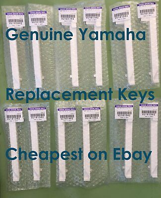 Genuine Yamaha Electric Piano Clavinova CLP CVP replacement Key Notes New Keys