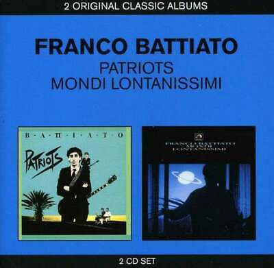 Box Patriots - Mondi Lontanissimi [2 CD] - Franco Battiato EMI MKTG
