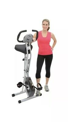 b7f9ab0a144 Exerpeutic Magnetic Upright Fitness Exercise Gym Bike with Heart Pulse  Sensors