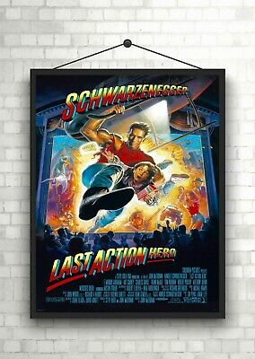 The Last Action Hero Classic Movie Large Poster Art Print Maxi A1 A2 A3 A4
