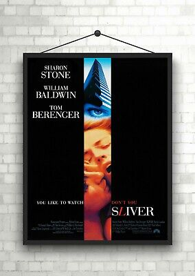 Sliver Classic Movie Large Poster Art Print Maxi A1 A2 A3 A4