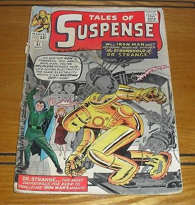 Tales of Suspense # 41  3rd appearance of Iron Man