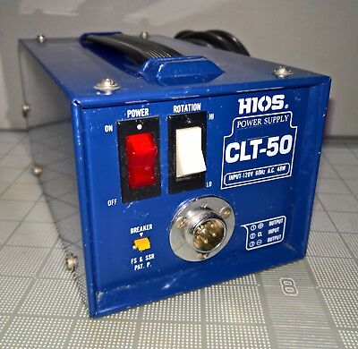 HIOS Mountz CLT-50 DC Power Supply Torque Driver Screwdriver CL SS A Series