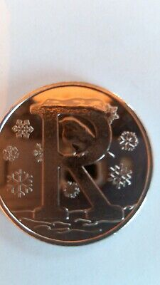 2019 letter R 10p coin.. uncirculated found in sealed bags