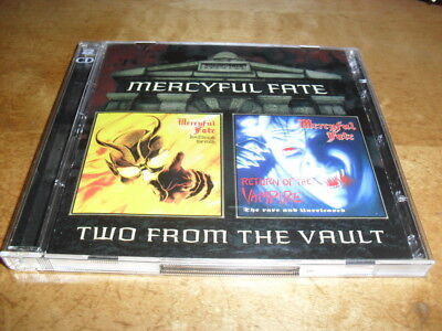 Mercyful Fate -Don't Break+Return Of- Hard To Find Ltd Edition 2 Cd Set Mint
