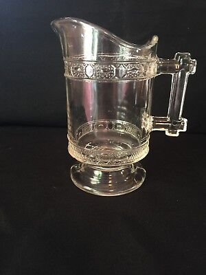 Vintage Antique ~Clear Glass Small Pitcher Creamer ***EXCELLENT***