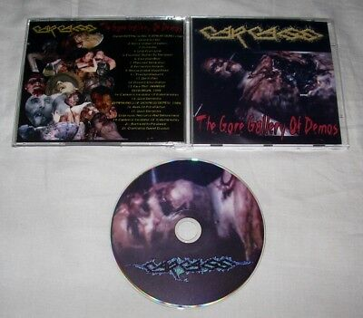 CARCASS – The Gore Gallery Of Demos CD ORG 2005 Limited Edition Regurgitate