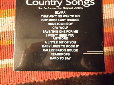 Backstage Karaoke Disc 5117 Country Songs CDG CD+G - BRAND NEW
