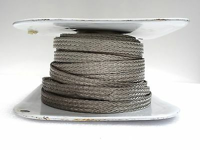 """Belden Wire 100Ft Of Sheilding And Bunding Cable 480X#30 Tin Cu Braided 3/4"""""""