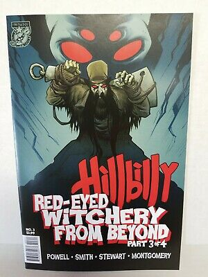 Hillbilly Red-Eyed Witchery From Beyond #3 (2018 Albatross) 1st Print, Cover A