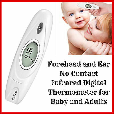 Digital Medical Infrared Body Temporal for Cozzine Ear and Forehead Thermometer