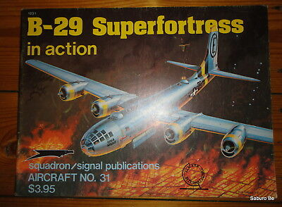 B-29 Superfortress in action Squadron signal publications 31
