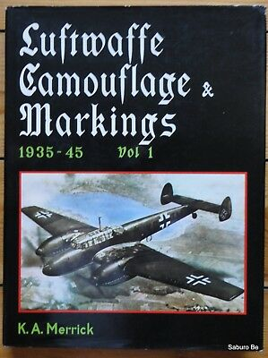 LUFTWAFFE Camouflage & Markings Vol1  MERRICK KOOKABURRA
