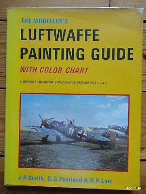 Luftwaffe Painting Guide With Color Chart Smith Pentland Kookaburra