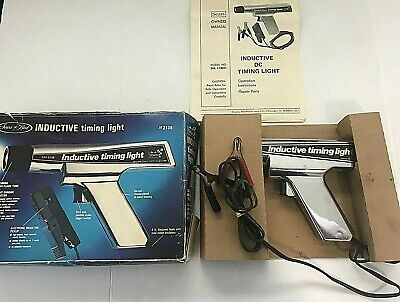 Sears Best Inductive Timing Light 2138 NOT TESTED Vintage Never Used