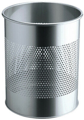 DURABLE 331023 3310-23 waste container 15 L Silver Polyester,Steel Steel/Stainle