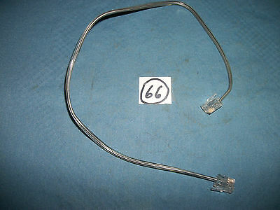 15 inch Gray Rotary Phone  Wall Supply Cord, Moduler Jacks, For Parts!!