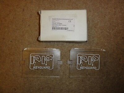 2 x Hoyles Keyguard Key Box Replacement Plastic Window. Brand New.