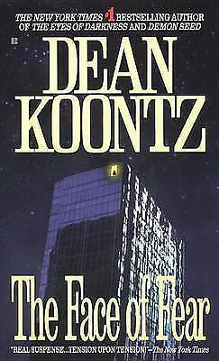 The Face of Fear, Koontz, Dean, Very Good Book