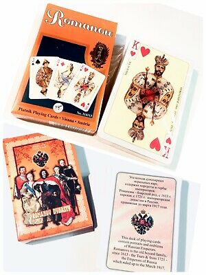 RUSSIAN TSARS Russia Poker Deck of Playing Cards 54 unique pictures Souvenir