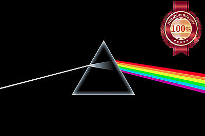 New Pink Floyd Dark Side Of The Moon Rainbow Music Band Art Print Premium Poster