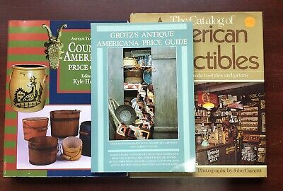 Mix To Book Light Country Americana Grotz's Antique Guide American Collectibles
