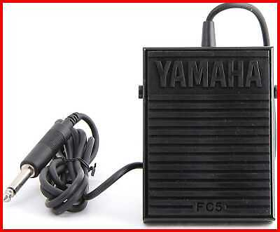 FC5 Compact Sustain Pedal For Portable Keyboards Black
