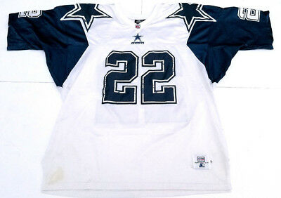 ede31f98a7d Starter Dallas Cowboys Vintage Emmitt Smith Sewn Pro Line Home Jersey Size  52