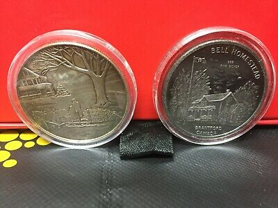 2  canada Homestead  1oz .999 Fine Silver Art Round / Bar  bullion c-7