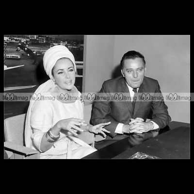 RICHARD BURTON /&  ELIZABETH TAYLOR PHOTO BOOM 11X15 CM  # 4