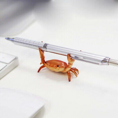 Crab Penholder Japen Ahnitol  Creative Multi-Functional Carriage Collection Gift