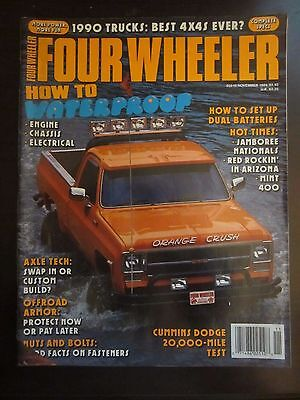 FOUR WHEELER MAGAZINE November 2018 Off Road Jeep Toyota