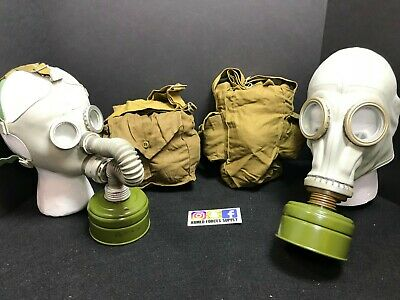 Military Soviet Russian Gas Mask Gp5 Gp-5 Filter Bag Survival Prepper Halloween