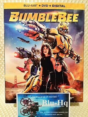 BUMBLEBEE:🚖 (Blu-Ray+DVD+Digital) Exclusive Comic Book Ed. Factory Sealed❗️
