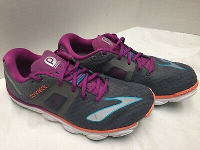 b22f32e4fa7 Brooks Pure Connect 4 Women s Running Shoes Gray Purple Size 7.5M Nice! Look