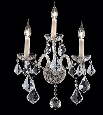 Palace  Manhasset 3 Light Wall Light Chrome Precio Mayorista