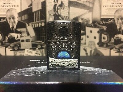 Zippo Moon Landing-50 Years, 2019 Collectible, Armor, Apollo 11 Mission