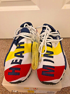 adf55af0c0ffc Adidas x Pharrell Williams NMD HU x BBC Billionaire Boys Club BB9544 Size 4