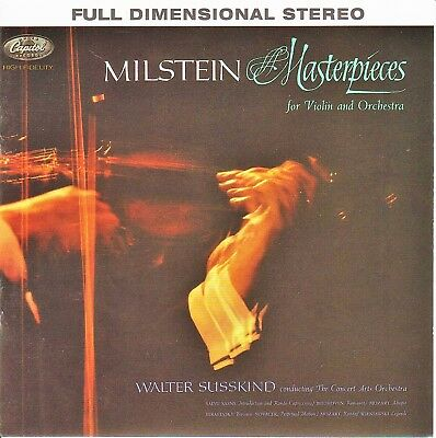 Milstein Masterpieces - Capitol / Analogue Productions hybrid SACD 2018