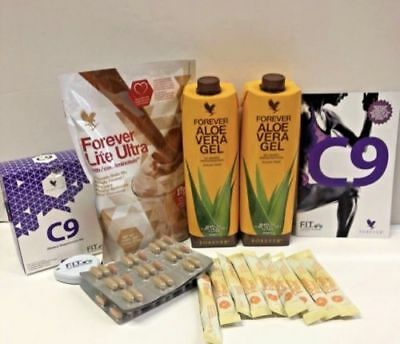 Forever Living Clean 9 C9 Chocolate Aloe Detox Cleanse couriered to your home