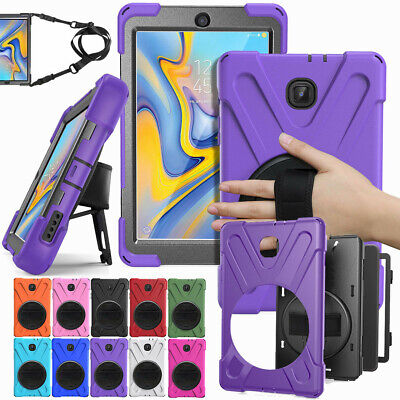 Stand Strap Case For Samsung Galaxy Tab A SM-T380/T550/T580/T590 Heavy Duty