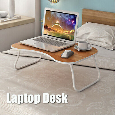 Laptop Stand Lap Bed Table Tray Sofa Netbook Work Study Home Portable Wood Desk