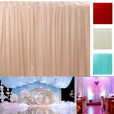 3M X 6M Stage Wedding Party Backdrop Photography Background Decoration Draping