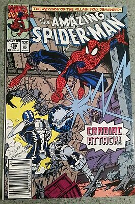 The Amazing Spider-Man #359 (Feb 1992, Marvel) NM Condition