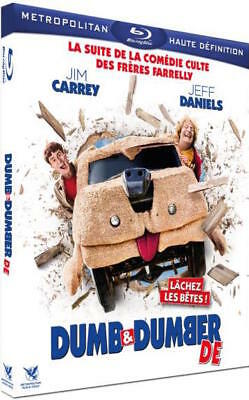 Blu-ray  :  DUMB & DUMBER DE  [ Jim Carrey, Jeff Daniels ]  NEUF cellophané