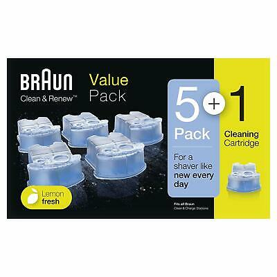 Braun CCR 5 + 1 Clean and Renew Men Electric Shaver Hygienic Refill Cartridge